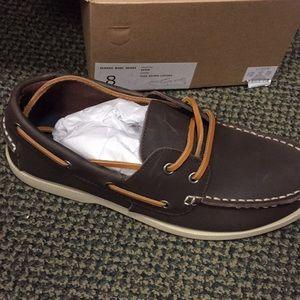Mens size 8 jcrew boat shoes